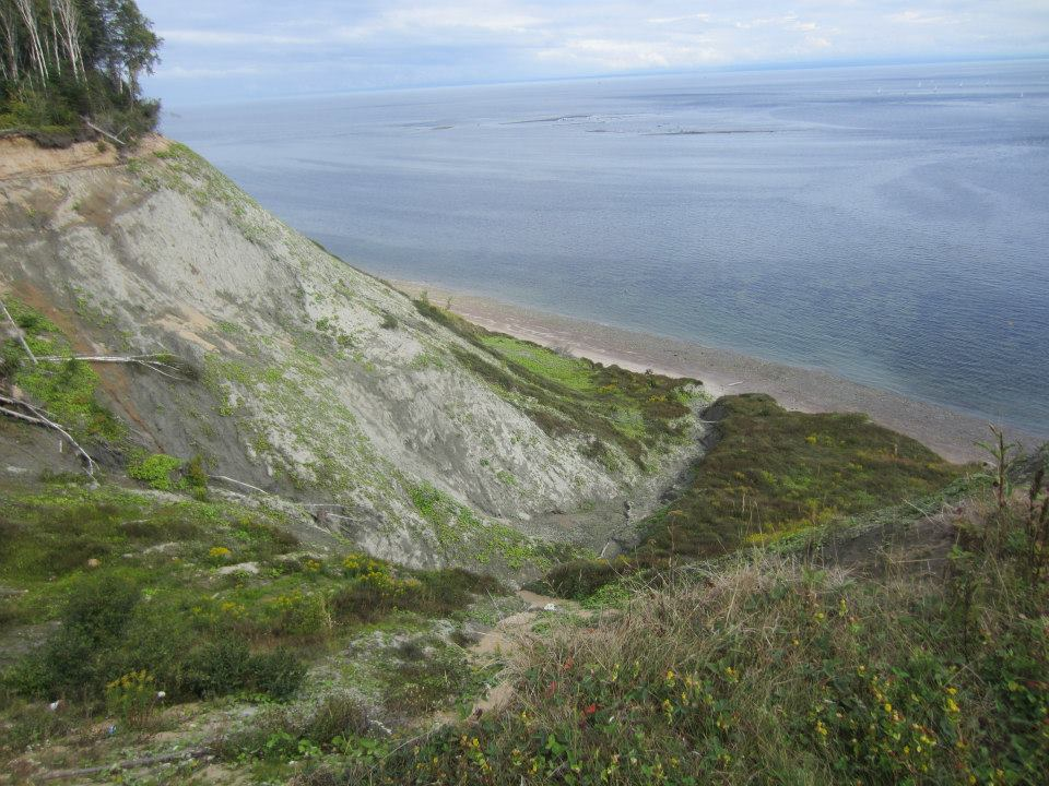 Top of the Clay Cliffs