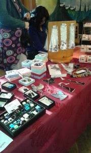 Lots of amazing handmade jewellry