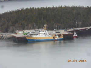 The inconvenient research ship from Quebec City