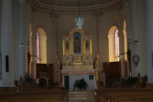 The beautiful chancel