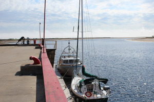 Wharf at Port Neuf sur Mer